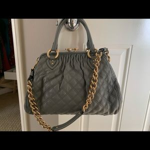 Marc Jacobs Stam quilted leather bag
